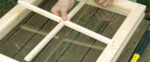 Comment fabriquer une fenêtre en bois ?
