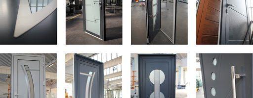 Une porte en aluminium pour une sécurité accrue